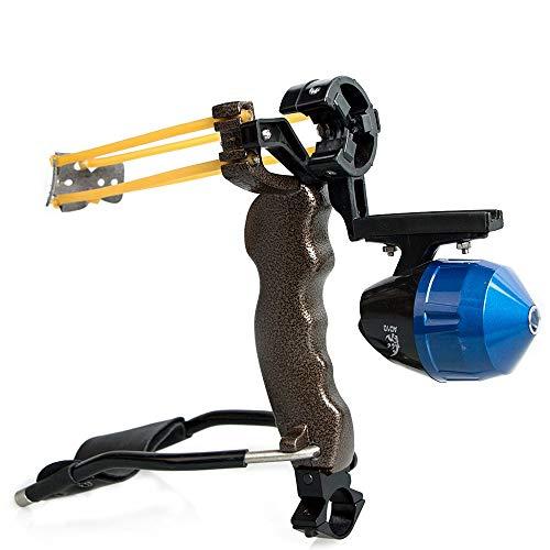 Huntingdoor Hunting Slingshot Slingbow Wrist Rocket Sling Shot Professional Slingshot Set High...