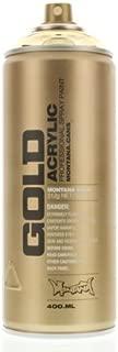 Montana GOLD Acrylic Professional Spray Paint 400 ml - Goldchrome by Montana