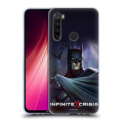 Head Case Designs Licenciado Oficialmente Infinite Crisis Batman Characters Carcasa de Gel de Silicona Compatible con Xiaomi Redmi Note 8T
