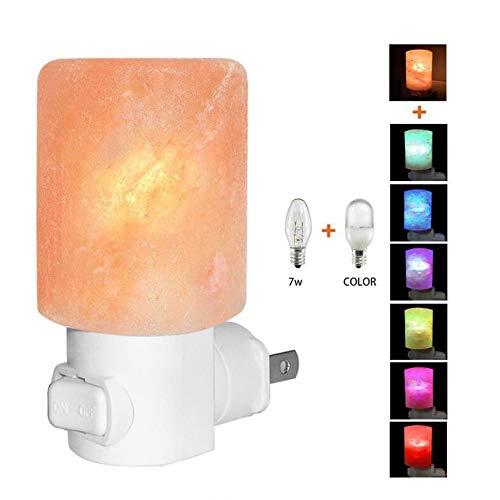 LoveHome lamp van zoutkristal, nachtlampje, creatieve tafellamp, decoratie