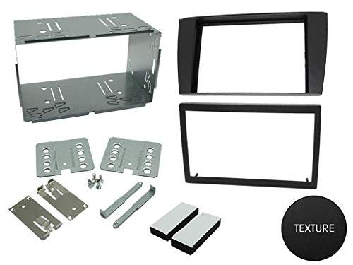 T1 Audio T1–23jg01 – Façade d'autoradio double DIN Assiettes S/jaguar x Type 2002 >