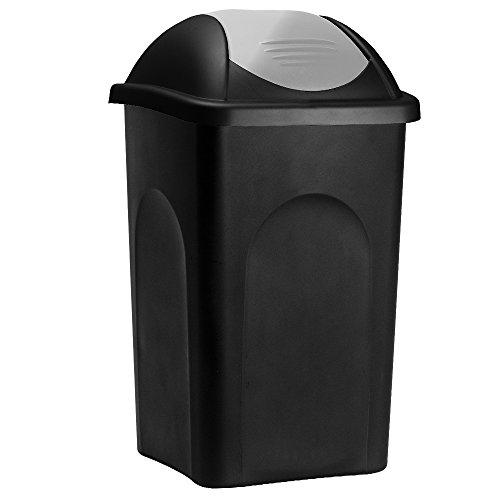 Stefanplast® Mülleimer mit Schwingdeckel, 60 Liter