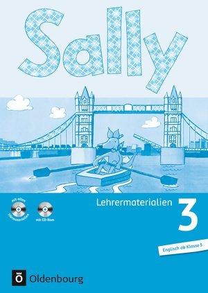Sally 3 Lehrermaterialien im Ordner und mit 2 Audio-CDs und CD-ROM