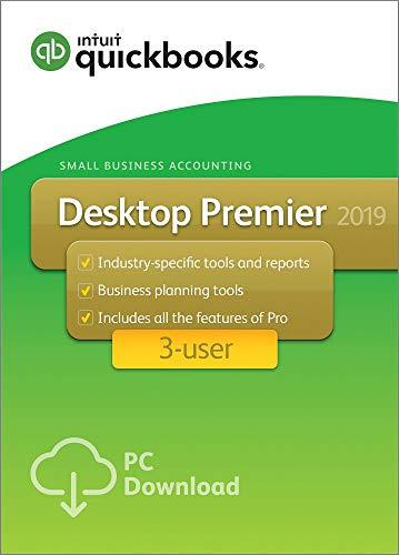 QuickBooks Premier 2019 3-User for Windows