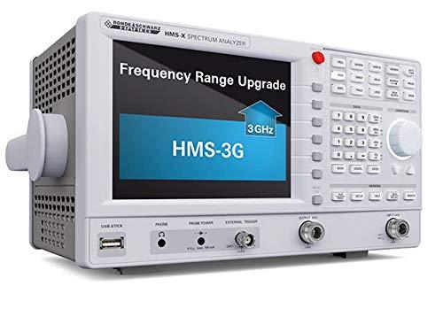 Rohde & Schwarz HMS-3G Verlängerung 3GHz, für HMS-X, nur in Kombination mit Basiseinheit HMs-X, Hardware-Option
