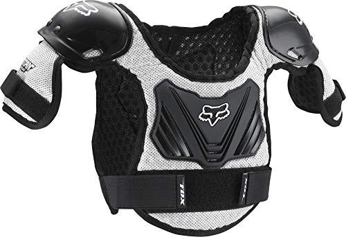 Fox Racing Pee Wee Titan Roost Deflector - Youth Small/Medium/Black/Silver