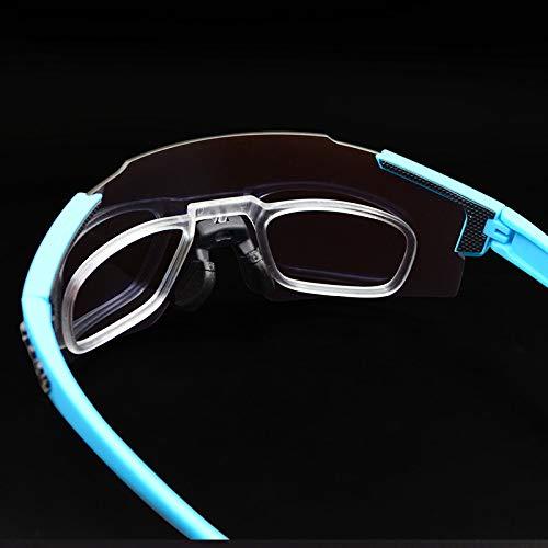 anruo Fietsbrillen mannen en vrouwen mountainbike fietsbrillen buitensporten gepolariseerde zonnebril rijbril