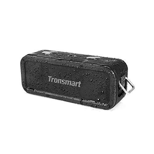 Bluetooth Lautsprecher 5.0, Tronsmart Force 40W Tragbarer Kabelloser Lautsprecher mit 3D Stereo, Extra Bass, IPX7 Wasserdicht, 15 Spielzeit, Sprachassistent, Mikrofo, TWS, NFC, Arbeitet mit Alex