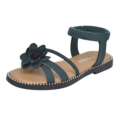 Sandalias Niña Verano ❤ Rawdah Sandalias para Niñas Fiesta Zapatillas Zapatos Niñas Princesa Niño Infantil Bebé Niñas Flor Casual Single Princess Zapatos Sandalias