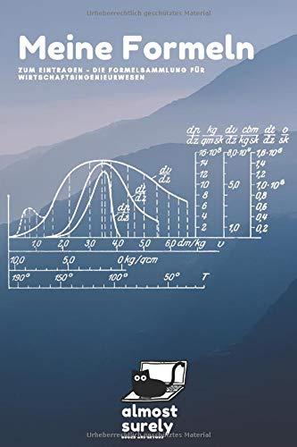 Meine Formeln - Die Formelsammlung für Wirtschaftsingenieurwesen: Formelbuch mit 120 Seiten zum eintragen deiner Gleichungen | perfektes Geschenk für Wirtschaftsingenieure