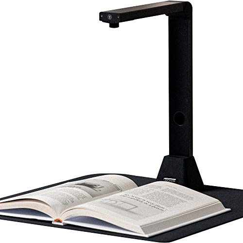 iOCHOW S5 Document Camera & Book Scanner : 22MP High Definition USB Portable Auto-Flatten & Deskew Tech Capture Size A3 Multi-Language OCR Doc Cam with SDK & Twain for Teachers Online Teaching