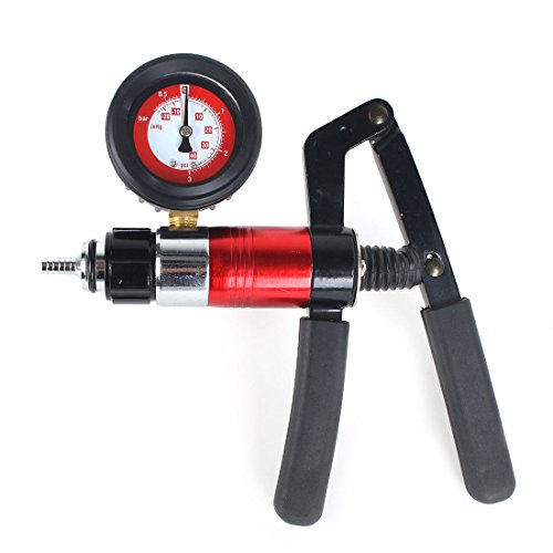 PMD Products Hand Held Vacuum and Pressure Pump with Pressure to 40 PSI (3.1 bar) and Vacuum to 20 inHG