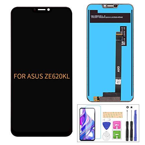 A-MIND For Asus Zenfone 5 2018 Gamme ZE620KL/5Z ZE620KL 修理用フロントパネル,フロントガラスデジタイザ,タッチパネル Lcd液晶パネルセット