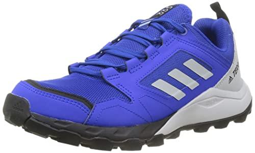 adidas Terrex Agravic TR, Zapatillas de Trail Running Hombre, AZUFUE/Gridos/NEGBÁS, 44 EU