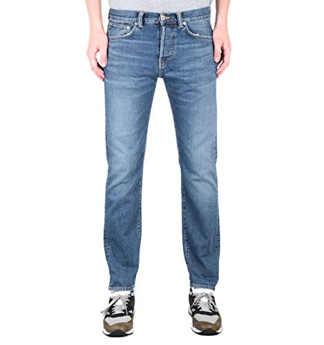 Edwin ED-80 Slim Tapered 12,6 Unzen Yumiko Blue Wash Denim Jeans