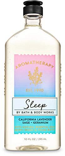 Bath and Body Works Body Care Aromatherapy - Body Wash + Foam Bath - 10 fl oz - Many Scents! (Sleep - California Lavender Sage Geranium)