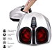Belmint Shiatsu Foot Massager Machine with Heat Function, Multi Settings Deep-Kneading Shiatsu Therapy Feet Massager – (Silver) (Renewed)