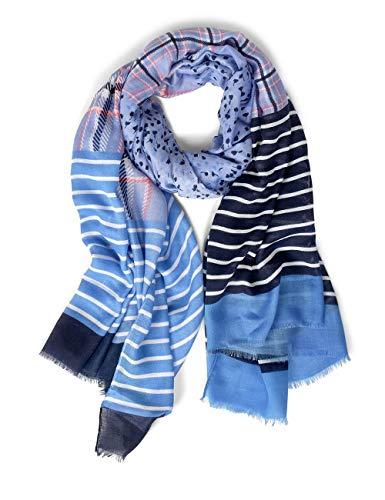 Street One Damen 571156 Mode-Schal, Heaven Blue, One Size