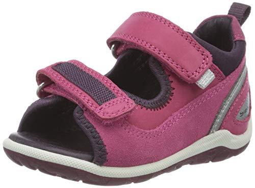 Ecco Baby Mädchen BIOMMINISANDAL Sandalen, Violett (Beetroot/Beetroot 50229), 23 EU