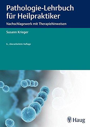 Krieger, S.:<br />Pathologie Lehrbuch für Heilpraktiker