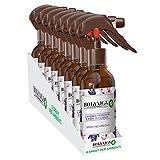 Airwick Botanica - Ambientador en spray para ambiente, paquete de 8 aerosoles, aroma de lavanda francesa y flores de cerezo, fragancia natural, spray de 236 ml