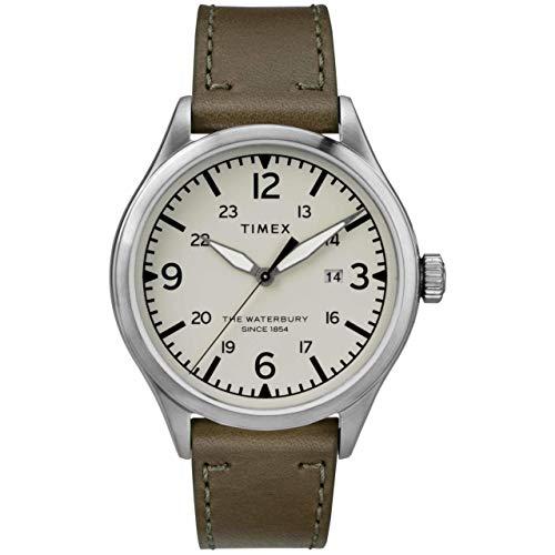 Timex The Waterbury Quartz Movement Cream Dial Men's Watch TW2R71100