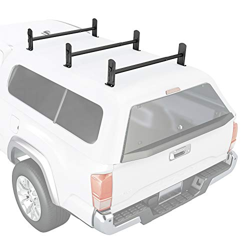 AA-Racks Model DX36 Universal Pickup Truck Cap & Topper 3 Bar Ladder Roof Van Rack System...