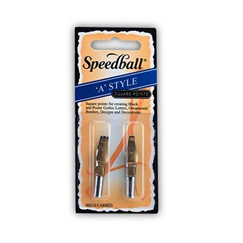 Unbekannt Speedball - Plakatfeder - 2-er Set - A 0 und A 1 - Quadrat