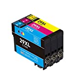 29XL - Cartuchos de tinta compatibles para Epson 29 29XL para Epson Expression Home XP-235 XP-245 XP-247 XP-255 XP-257 XP-332 XP-335 XP-352 XP-342 XP-345 XP-455 (3 unidades)