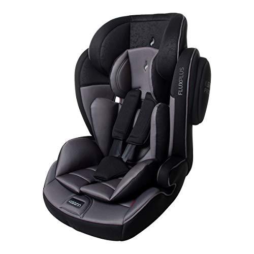 Osann 102-138-271 Kinderautositz Flux Isofix, Gruppe 1/2/3 (9-36 kg), Autositz, schwarz