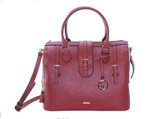Stella Maris Damen Handtasche Lederhandtasche mit einem echtem Diamant Umhängetasche Tasche Damenhandtasche Frauenhandtasche Shopper STMB601-01 29/26,5/16,5 CM