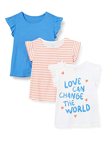 ZIPPY Pack 3 Camisetas SS20, Regatta 18/4039 TC, 4/5 para Niñas