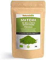 Biologische Matcha Thee in poeder [PREMIUMKWALITEIT] 50 gram. Bio Japanse Groene Matcha-Thee. Geproduceerd in Uji, Kyoto...