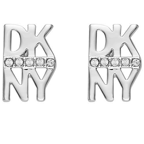 DKNY Donna Karan Ohrring Stacked Pave Logo mit Swarovski®-Kristall