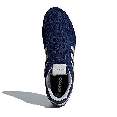 Adidas 8k, Zapatillas Hombre, Azul (Dark Blue/Grey Two F17/Grey Three F17 Dark Blue/Grey Two F17/Grey Three F17), 40 2/3 EU