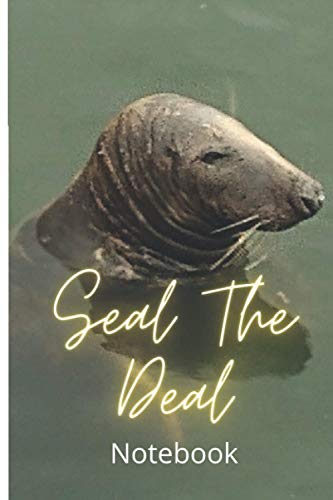 Seal the Deal Lined Notebook: 120 Page Lined Notebook, Record Sales, EBay, FBA, anything that helps you Seal the Deal