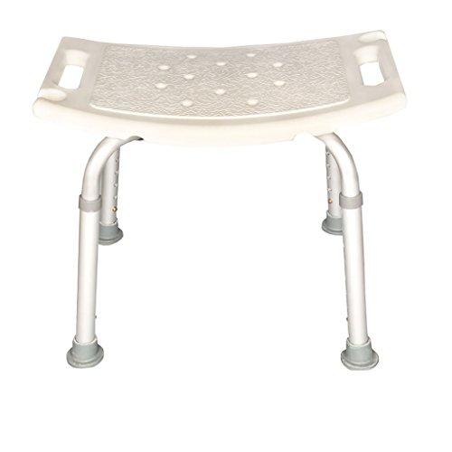 MyAou-Shower Chair Aleación De Aluminio Silla De Baño Mayor Niño Baño Taburete Baño Taburete Silla De Baño De Las Mujeres Silla De Ajuste De Altura (Estilo : C)