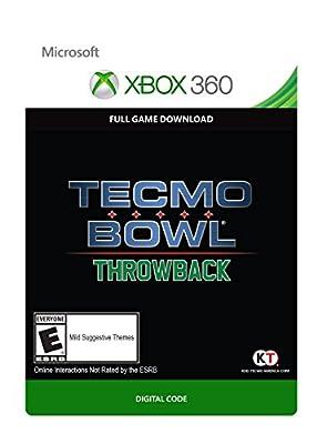 Tecmo Bowl Throwback - Xbox 360 Digital Code from Koei Tecmo