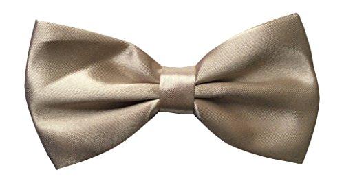 Sock Snob - mens arc liens nœud papillon dans 35 couleurs différentes (Beige)