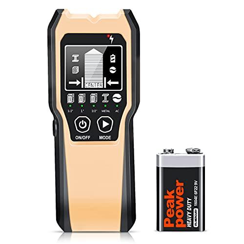 Stud Finder Wall Scanner - 5 in 1 Stud Detector Detector Beam Finders Wall...