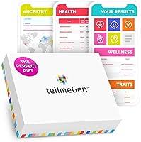 DNA Test Kit tellmeGen - 390+ rapporten - Erfelijke aandoeningen - Etniciteit (Vooroudersamenstelling) - Genetische...
