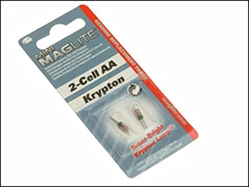 Mag-Lite Pack de 2 bombillas Krypton para Mini AA/AAAl
