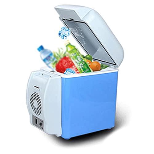 LZL Mini refrigerador portátil 8 litros Termoeléctrico portátil y Calentador para el Cuidado de la Piel, Alimentos, medicamentos, hogar y Viaje (Color : Blue)