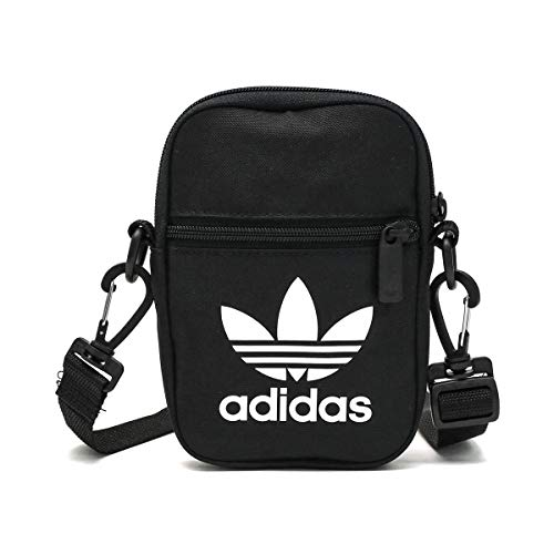 adidas Unisex-Adult Fest Tref Luggage- Messenger Bag, Black, NS