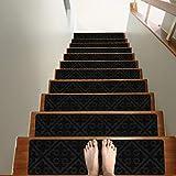 Treadsafe Non-Slip Carpet Stair Treads, 15...