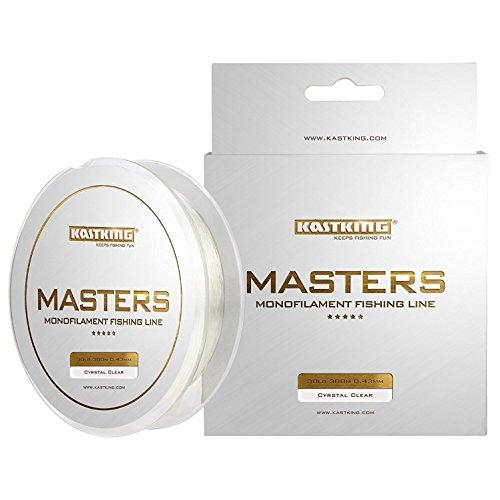 KastKing Masters Monofilament Fishing Line Tournament Grade Mono Line 300Yds/274M Premium Fishing Line
