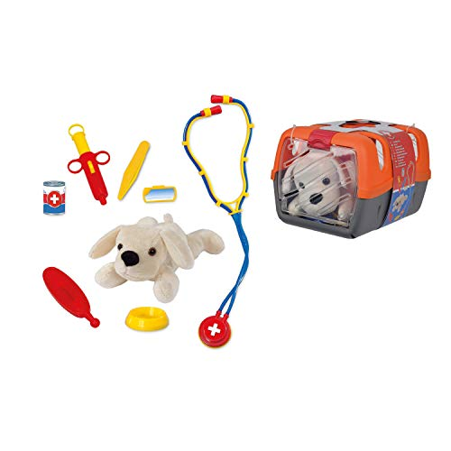 Simba 105543060 5543060 - Tierarztkoffer orange / grau