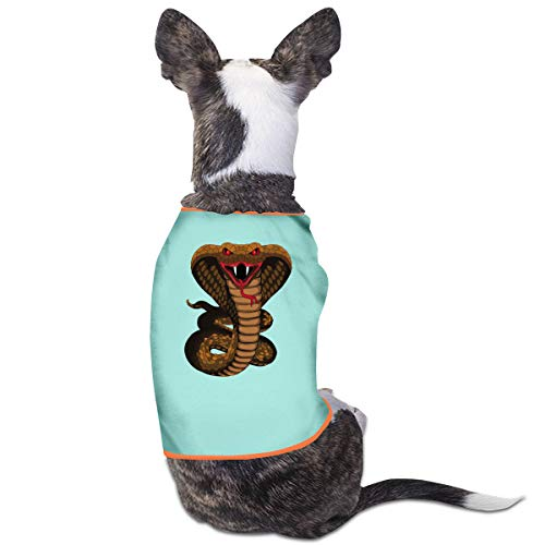 Julyshine King Cobra Pet Service Sweater Hoodie Suit Dog Cat