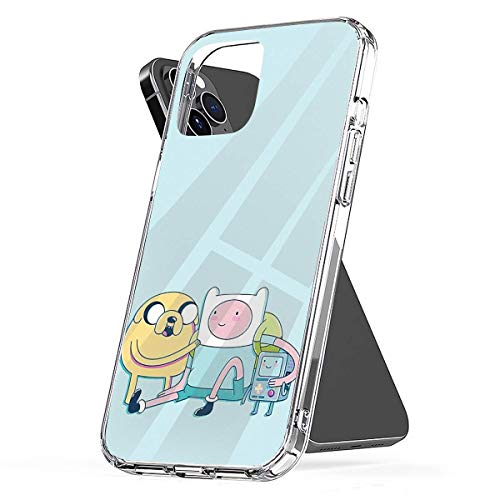 Phone Case Adventure Friends (Adventure Time) Compatible with iPhone 6 6s 7 8 X XS XR 11 Pro Max SE 2020 Samsung Galaxy Tested Absorption Funny