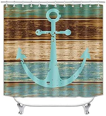 10 Styles Anchor Ranking TOP7 Long-awaited Shower Curtain Polyester Waterproof Curt